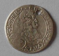 Rakousko – Vídeň 3 Krejcar 1669 Leopold I. dirka
