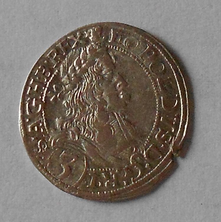 Rakousko – Vídeň 3 Krejcar 1670 Leopold I.