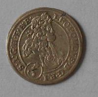 Slezsko – Břeh 3 Krejcar 1696 Leopold I.