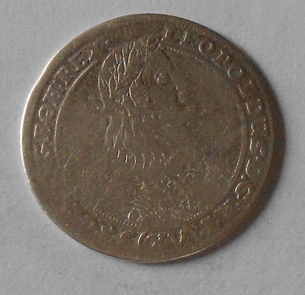 Slezsko – Vratislav 15 Krejcar 1660 Leopold I.