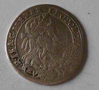 Slezsko – Vratislav 15 Krejcar 1661 Leopold I.