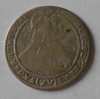 Slezsko – Vratislav 15 Krejcar 1662 Leopold I.