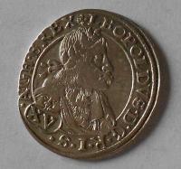 Slezsko – Vratislav 15 Krejcar 1664 Leopold I.