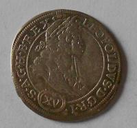 Slezsko – Vratislav 15 Krejcar 1693 Leopold I.