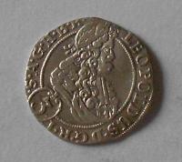 Slezsko – Vratislav 3 Krejcar 1699 Leopold I.