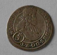 Slezsko – Vratislav 3 Krejcar 1702 Leopold I.