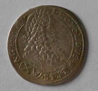 Uchry CH 15 Krejcar 1696 Leopold I.