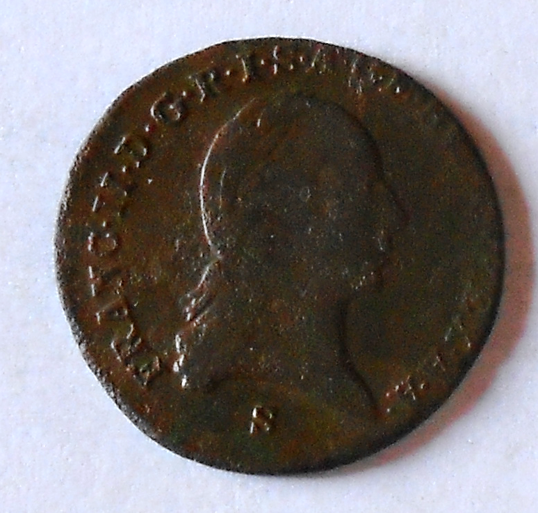 Uhry 1 Krejcar 1800 S František II.