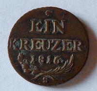 Uhry 1 Krejcar 1816 S František II.