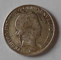 Uhry 20 Krejcar 1845 B Ferdinand V.