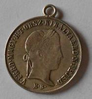 Uhry 20 Krejcar 1848 KB Ferdinand II. dobové ouško