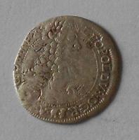 Uhry – Bratislava 3 Krejcar 1697 Leopold I.