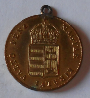 Uhry EGY KREJCÁR 1848 Ferdinand V. dobové ouško