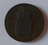 Uhry EGY KREJCÁR 1848 Ferdinand V. stav