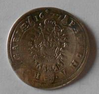 Uhry – Kremnica 15 Krejcar 1677 Leopold I.