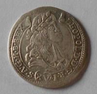 Uhry – Kremnica 15 Krejcar 1680 Leopold I.