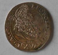 Uhry – Kremnica 15 Krejcar 1691 Leopold I.