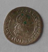 Uhry – Kremnica 6 Krejcar 1670 Leopold I.