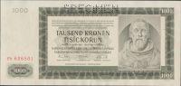 1000K/1942/, stav 0 perf. SPECIMEN, série Fb - II. vydání