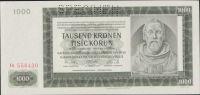 1000K/1942/, stav 0 perf. SPECIMEN, série Ia - II. vydání