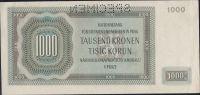 1000K/1942/, stav 1 perf. SPECIMEN, série D - I. vydání
