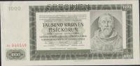 1000K/1942/, stav UNC perf. SPECIMEN, série Jc - III. vydání