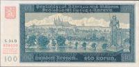 100K/1940/, stav UNC perf. SPECIMEN, série 34 B - I. vydání