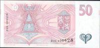 50Kč/1994/, stav UNC, série B