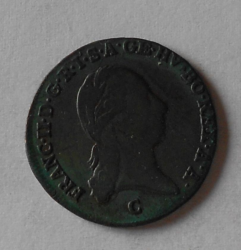 Čechy 1 Krejcar 1800 C František II.