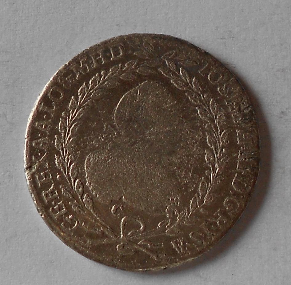 Čechy 20 Krejcar 1773 C Josef II.