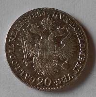 Čechy 20 Krejcar 1834 C František II.