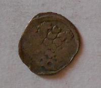 Čechy Kruhový Peníz 1458-71 Bez letopočtu Jiří z Poděbrad, jednostranný, kruhový