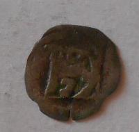 Čechy Peníz se čtyřrázem 1378-1419 Bez letopočtu Václav IV.