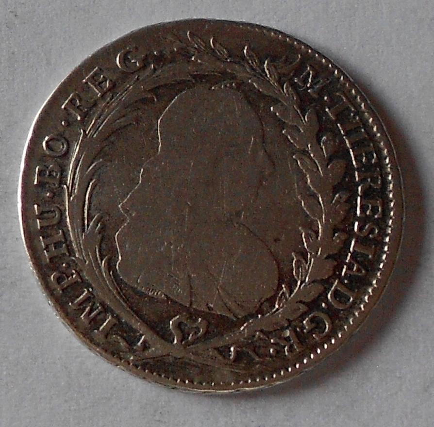 Čechy – Praha 20 Krejcar 1775 Marie Terezie