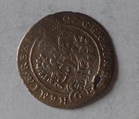 Čechy – Praha 3 Krejcar 1707 Josef I., dirka