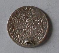 Čechy – Praha 3 Krejcar 1711 Josef I., dirka