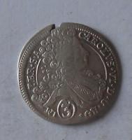 Čechy – Praha 3 Krejcar 1714 Karel VI.