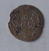 Čechy – Praha 3 Krejcar 1729 Karel VI.