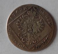 Čechy – Praha 30 Krejcar 1763 Marie Terezie, měl ouško