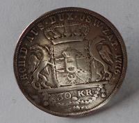 Halič 30 Krejcar 1776 Marie Terezie, jako šperk