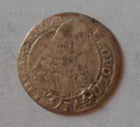 Olomouc – Arcibiskupství 3 Krejcar 1660 Leopold Vilém, dirka
