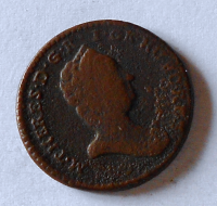 Rakousko 1/2 Krejcar 1740-80 bez letopočtu Marie Terezie