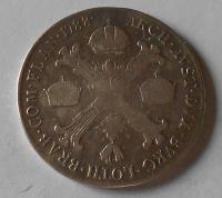 Rakousko 1/2 Tolar 1786 A Josef II. měl ouško