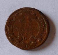 Rakousko 1 Krejcar 1762 G Marie Terezie