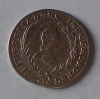 Rakousko 10 Krejcar 1764 Marie Terezie