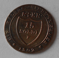 Rakousko 15 Soldi 1802 František II.