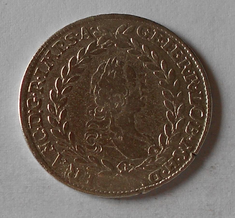 Rakousko 20 Krejcar 1758 HA František Lotrinský