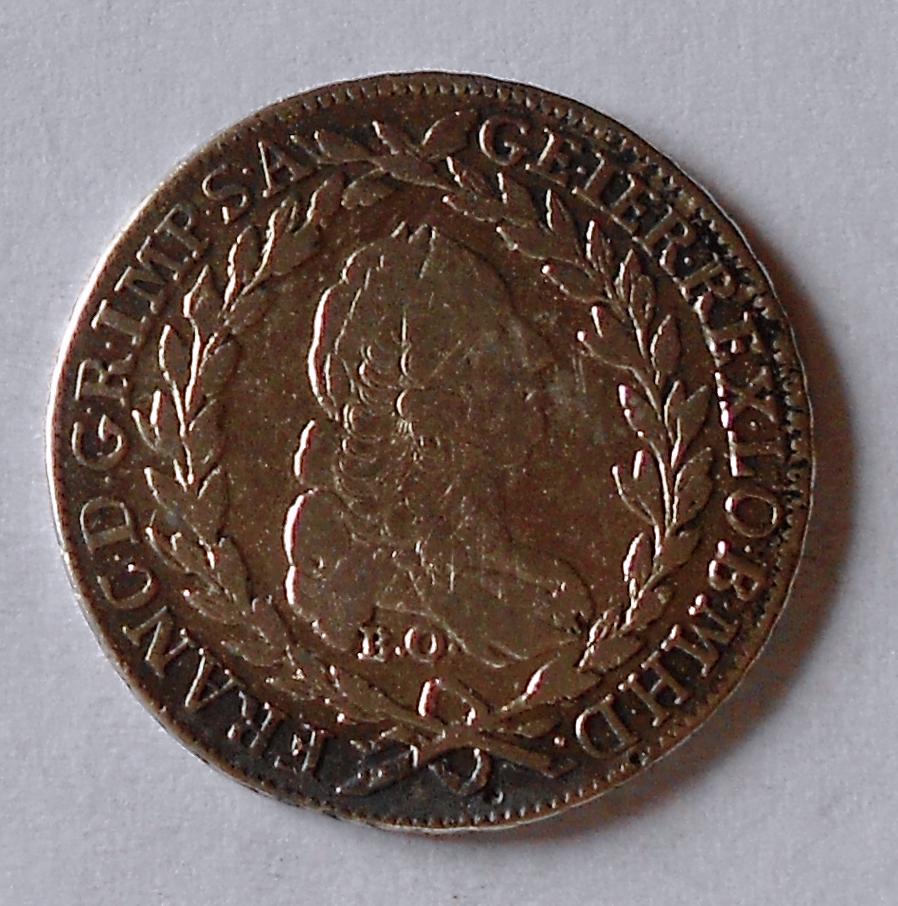 Rakousko 20 Krejcar 1765 SKPD František Lotrinský