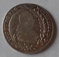 Rakousko 20 Krejcar 1780 ICFA Marie Terezie