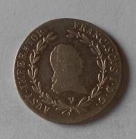 Rakousko 20 Krejcar 1818 V František II.